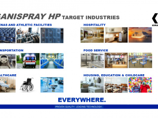 Graco SaniSpray HP Selection Guide Industries