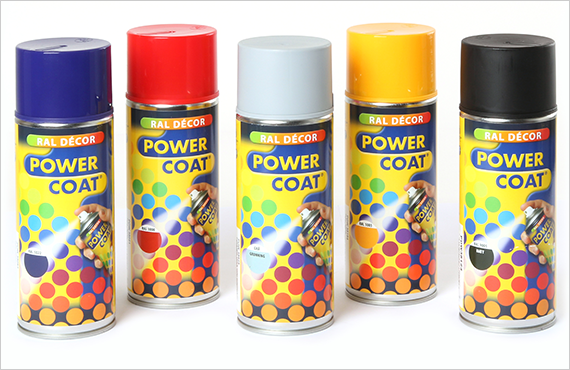 Power Coat RAL Décor spray