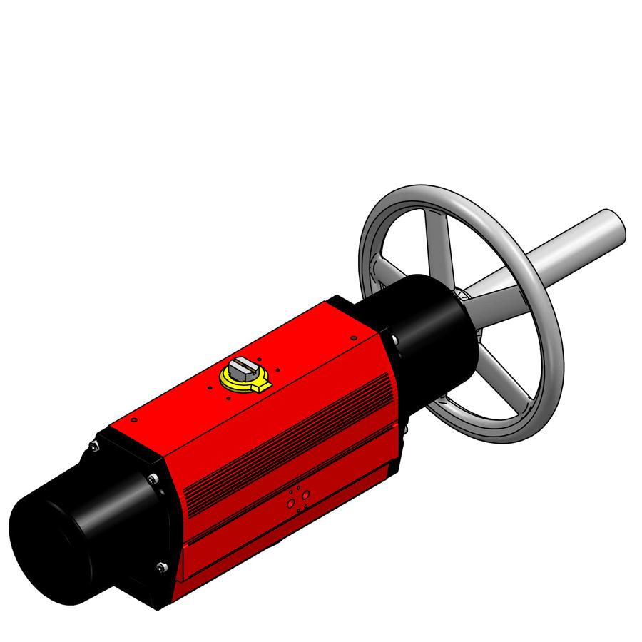 RC 265 SR M PNEUMATIC ACTUATOR