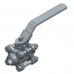 MARS SERIE 50-30 15MM BW PN 70 FLOATING BALL VALVE