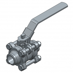 MARS SERIE 50-30 20MM BW PN 70 FLOATING BALL VALVE