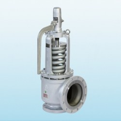 Technical SERIE 30000 FLANGED RF SAFETY VALVE OPEN LEVER