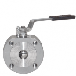 ALFA SERIE 10 NF 15MM FLANGED RF PN 40 FLOATING BALL VALVE