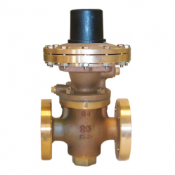 EMERSON-BAILEY-BIRKETT SERIE G4 2043 LOW PRESSURE FLANGED PRESSURE REDUCING VALVE
