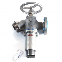 EMERSON-BAILEY-BIRKETT SERIE CLASS-F INLET 40MM ANSI 150-OUTLET 65MM BSP 40MM CL-F ANSI150-BSP PRESSURE REDUCING VALVE