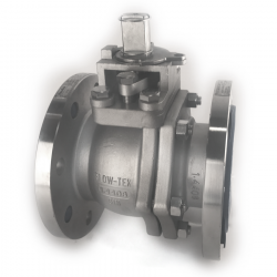 BRAY 80MM - 3 INCH FLANGED RF PN 16 FLOATING BALL VALVE