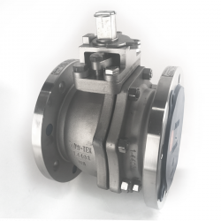 BRAY 100MM - 4 INCH FLANGED RF PN 16 FLOATING BALL VALVE