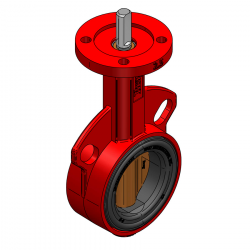 BRAY SERIE 30-684 65MM WAFER PN 16 CONCENTRIC BUTTERFLY VALVE