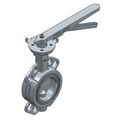 SERIE 2230 65MM WAFER PN 16 CONCENTRIC BUTTERFLY VALVE