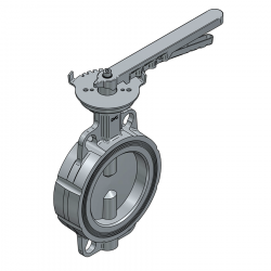 SERIE 2230 125MM WAFER PN 16 CONCENTRIC BUTTERFLY VALVE