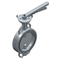 SERIE 2230 150MM WAFER PN 16 CONCENTRIC BUTTERFLY VALVE