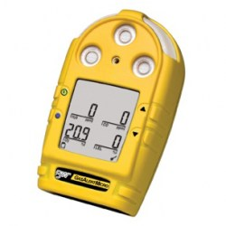 MICROCLIP XL 3 PORTABLE GAS DETECTOR FOR O2/H2S/LEL