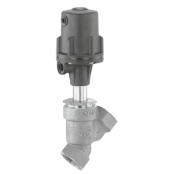 SERIE 554 15D 1 37 511 15MM THREADED SOCKETS DIN ISO 228 PNEUMATICALLY OPERATED GLOBE VALVE