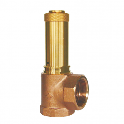 SERIE 6370 25MM INLET & 25MM OUTLET BSPP FEMALE SAFETY VALVE