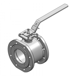 MARS SERIE 99-1F 100MM WAFER PN 16 V-PORT BALL VALVE