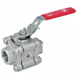 MARS SERIE 83-1F 8MM NPT ANSI 600 FLOATING BALL VALVE