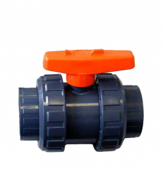 SERIE S5 2-WAY SOLVENT CEMENT SOCKETS PN 10 FLOATING BALL VALVE