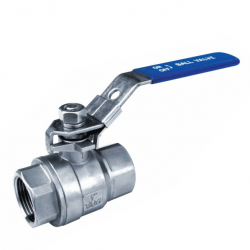 8MM BSPP 1000 PSI FULL BORE BALL VALVE WITH LOCKABLE HANDLE