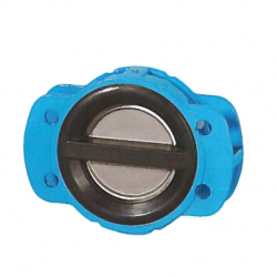 COATED 125MM FLANGE PN 16 DUAL PLATE CHECK VALVE