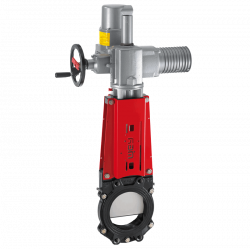 WEY (SISTAG) ELECTRIC KNIFE GATE VALVE SERIE VNE