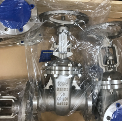 100MM FLANGED RF PN16 BOLTED BONNET GATE VALVE