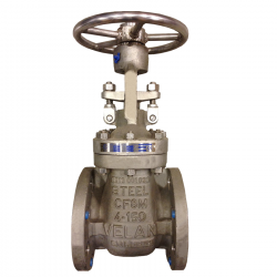 SERIE GTAS10R 100MM FLANGED RF ANSI 150 RISING STEM/BOLTED BONNET GATE VALVE