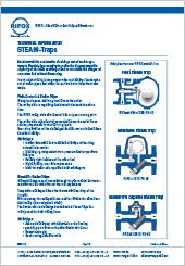 Rifox Steam-Traps Technical Information