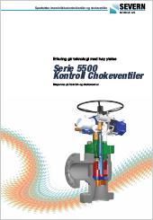 Severn Serie 5500 Kontroll Chokeventiler