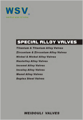WSV Special Alloy Valves