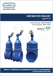 MIV Gate Valve Oval Body Type V1-10