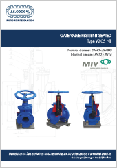 MIV Gate Resilient Seated Type V2-05 NT
