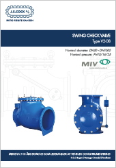 MIV Swing Check Vlave Type V2-08