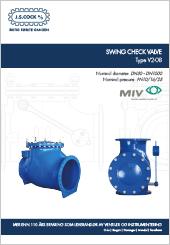 MIV Swing Check Vlave Type V2-08