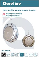 Coreline Thin Wafer Swing Fig.614/615