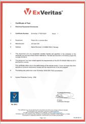 Polaris Terminal Box IP Certificate