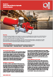 Camtorc Self-contained Electro-Hydraulic Failsafe Actuator