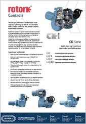 Rotork CK Serie El. aktuatorer