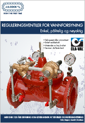 CLA-VAL Reguleringsventiler for vannforsyning