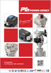 Power-Genex Valve Positioner, IP Converter, Position Transmitter, Lock-up Valve, Snap Acting Relay