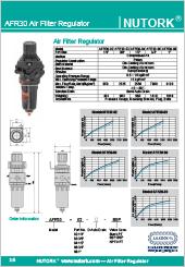 Nutork AFR30 Serie Air Filter Regulator