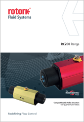 Rotork Pn.Actuators RC200 Range