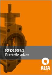 Alfa Butterfly Valves S93-S94