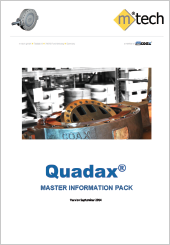 M-Tech Quadax Master Information Pack