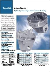 ControlAir Inc. Volume Booster Type6000