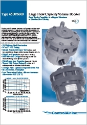 ControlAirInc. VolumeBooster Type6500/6600