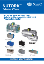 Nutork NK Series Pneumatic Actuator