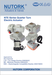 Nutork NTE Series Quarter Turn Electric Actuator