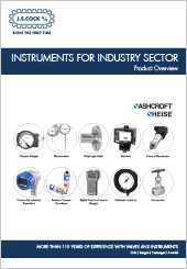 JSC Ashcroft®, Heise® Instruments for Industry Sector Overview