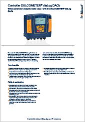 ProMinent Controller DULCOMETER® diaLog DACb (en)